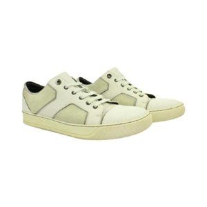 Lanvin Sneakers Lbslm111 Off White Athletic Shoes